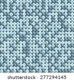 square blue mosaic disco party... | Shutterstock .eps vector #277294145