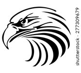 eagle head logo | Shutterstock .eps vector #277309679