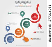 infographic design template... | Shutterstock .eps vector #277316051