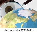 looking around the planet... | Shutterstock . vector #27732691