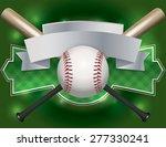 an illustration of a baseball... | Shutterstock . vector #277330241