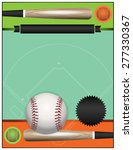 baseball tournament blank... | Shutterstock . vector #277330367