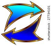 vector arrows | Shutterstock .eps vector #27734101