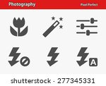 photography icons. professional ...