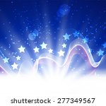 abstract image of the american... | Shutterstock .eps vector #277349567