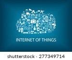 internet of things  iot ... | Shutterstock .eps vector #277349714