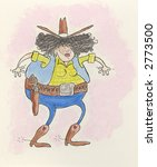 cowgirl   Shutterstock . vector #2773500