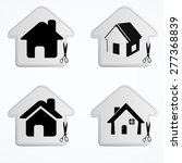 home icons | Shutterstock .eps vector #277368839