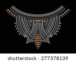 Neck Embroidery For Fashion An...