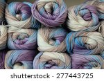 colorful yarn  | Shutterstock . vector #277443725