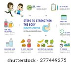 set of health modern flat icon  ... | Shutterstock .eps vector #277449275