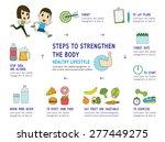 set of health modern flat icon  ... | Shutterstock .eps vector #277449275