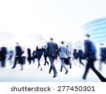 business people walking... | Shutterstock . vector #277450301