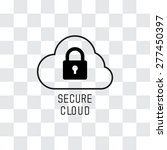 secure cloud technology. cloud...