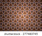 textile cloth colorful  | Shutterstock . vector #277483745