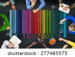 bar code retail marketing... | Shutterstock . vector #277485575