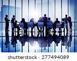 meeting seminar conference... | Shutterstock . vector #277494089