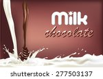 packaging the banner of dairy...   Shutterstock .eps vector #277503137
