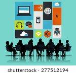computer cloud computing... | Shutterstock . vector #277512194