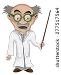 scientist learns and explains | Shutterstock .eps vector #277517564