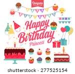 happy birthday typographic sing ...