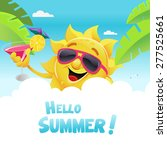 hello summer | Shutterstock .eps vector #277525661