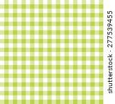 green   white gingham pattern ...   Shutterstock . vector #277539455