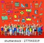 school activity sport hobby... | Shutterstock . vector #277543319