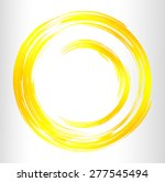 Yellow Abstract Vector Bright...