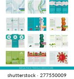 set of template vector design... | Shutterstock .eps vector #277550009
