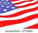 american flag | Shutterstock . vector #2775685