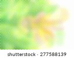 abstract halftone graphic... | Shutterstock .eps vector #277588139