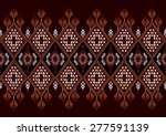 ethnic pattern for background. | Shutterstock .eps vector #277591139
