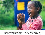 Ethiopian Girl Singing And...