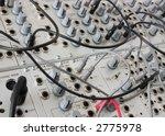 closeup of an analog modulare... | Shutterstock . vector #2775978