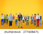 people community togetherness... | Shutterstock . vector #277608671