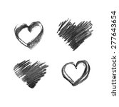 illustration of hand drawn... | Shutterstock .eps vector #277643654