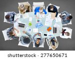 meeting communication planning... | Shutterstock . vector #277650671