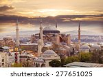 Hagia Sophia In Istanbul. The...