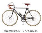 Vintage Bicycle Isolate On...