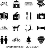 tourist locations icon set icon ... | Shutterstock .eps vector #2776664