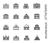 building icons. vector... | Shutterstock .eps vector #277670495