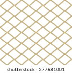 Seamless Net Pattern. Vector...