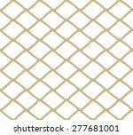 Seamless Net Pattern. Vector...