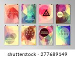 set of poster  flyer  brochure... | Shutterstock .eps vector #277689149