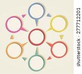 infographic design template.... | Shutterstock . vector #277712201
