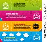 flyer brochure designs. mail...   Shutterstock .eps vector #277713707