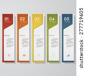 design clean number banners... | Shutterstock .eps vector #277719605