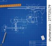 blueprint manipulators manually ... | Shutterstock .eps vector #277725179
