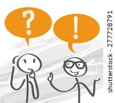 frequently asked questions  ... | Shutterstock .eps vector #277728791